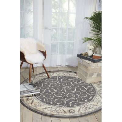 Dalrymple Area Rug Rug Size: Round 56