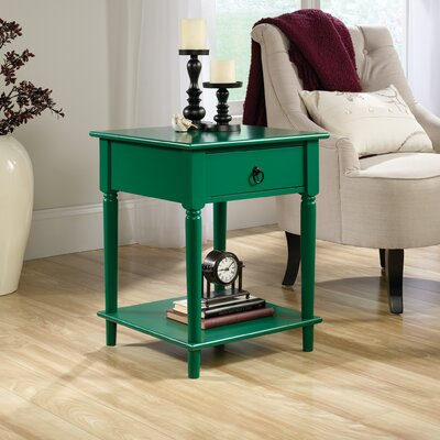 Babson Side Table Finish: Emerald Green
