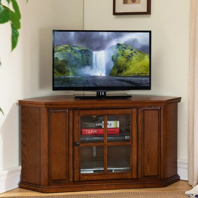 Benson Corner TV Stand Finish: Burnished Oak
