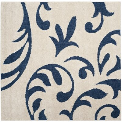 Diederich Blue Indoor Area Rug Rug Size: Square 67
