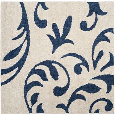 Brierwood Blue Indoor Area Rug Rug Size: Square 67
