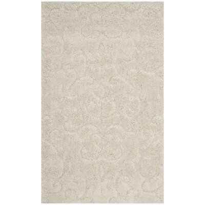 Brierwood Beige Indoor Area Rug Rug Size: 3'3