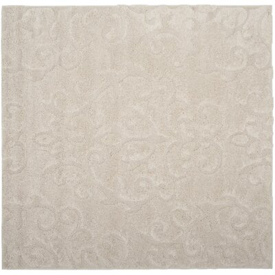 Diederich Geometric Beige Indoor Area Rug Rug Size: Square 67
