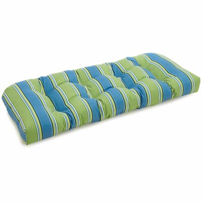 Chapin Outdoor Bench Cushion Fabric: Haliwell Caribbean