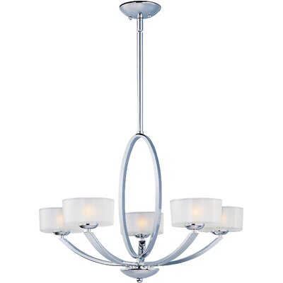Ellisville Traditional 5-Light Drum Chandelier