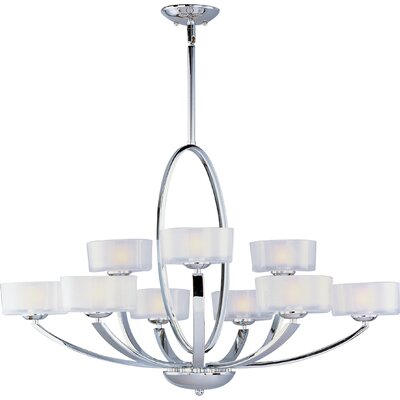 Ellisville 9-Light Drum Chandelier
