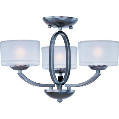 Hanlon 3-Light Semi-Flush Mount/Chandelier