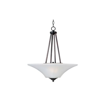 Pearson 2-Light Invert Bowl Pendant Finish: Oil Rubbed Bronze