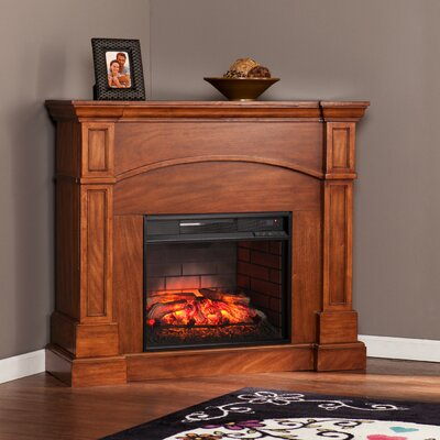 Murphy Corner Convertible Infrared Electric Fireplace
