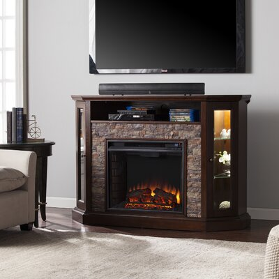 Montpelier 50 TV Stand with Fireplace Finish: Espresso