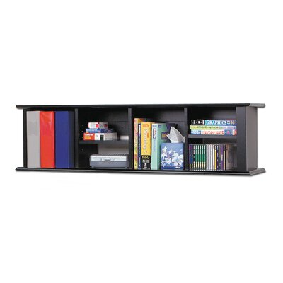 Akron 13 H x 48 W Desk Hutch Finish: Deep Black
