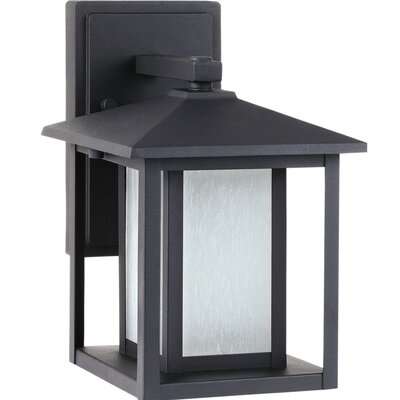 Three Posts Hayner 1 Light Outdoor Wall Lantern