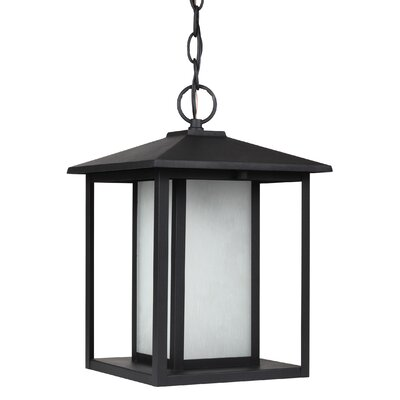 Three Posts Hayner 100W 1 Light Outdoor Pendant