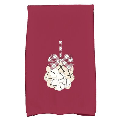 Hand Towel Color: Cranberry