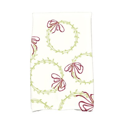 Simple Wreath Hand Towel