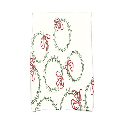 Briese Simple Wreath Hand Towel
