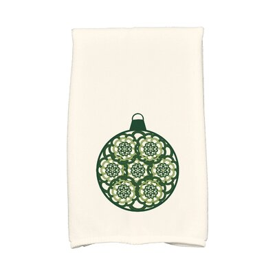 Sheatown Snowflake Bulb Hand Towel Color: Green