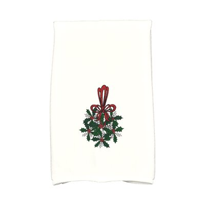 Traditional Mistletoe Hand Towel