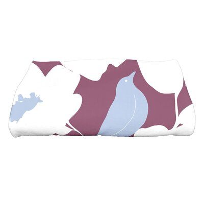 Bird Bath Towel Color: Purple