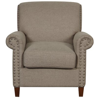 Grayville Traditional Roll Armchair