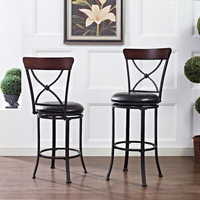 Jessamine 42.25 Swivel Counter Bar Stool