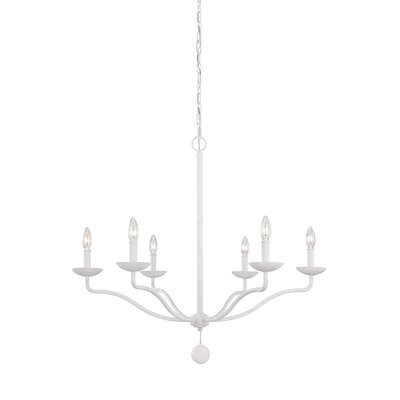 Greenhalgh 6-Light Candle-Style Chandelier