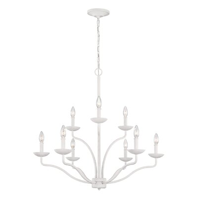 Bellbrook 9-Light Candle-Style Chandelier
