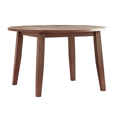 Brook Hollow Dining Table Finish: Brown
