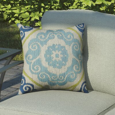 Beaufort Traditional Indoor/Outdoor Throw Pillow Size: 18 H x 18 W x 0.5 D
