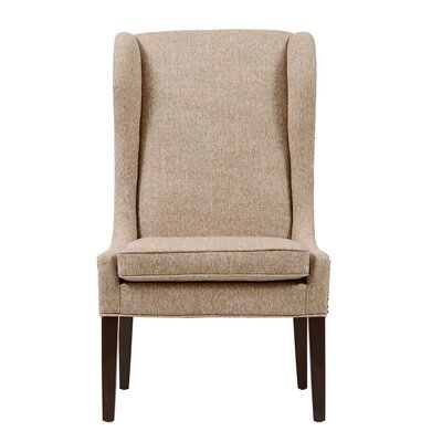 Andover Wingback Chair Upholstery: Beige