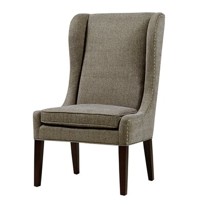 Andover Wingback Chair Upholstery: Grey