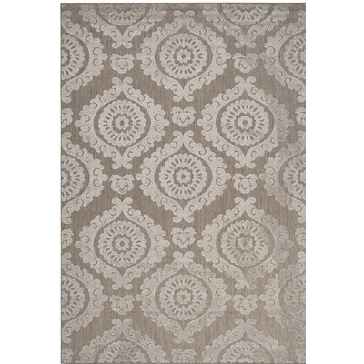 Deweese Brown/Beige Outdoor Area Rug