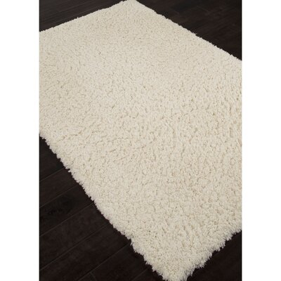 Anniston Ivory & White Area Rug Rug Size: 4 x 6