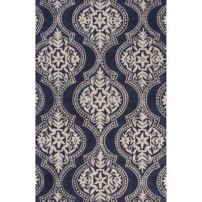 Anselm Hand-Tufted Blue Area Rug Rug Size: 2 x 3
