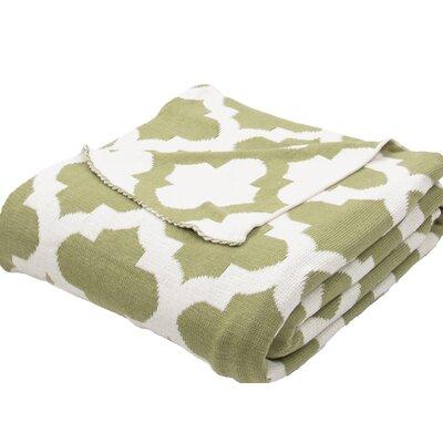 Anson Handloom Modern Cotton Throw Blanket