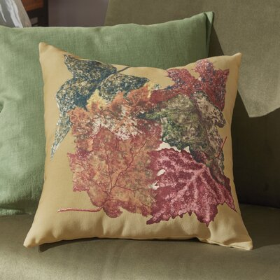Byrnedale Autumn Outdoor Throw Pillow Color: Gold