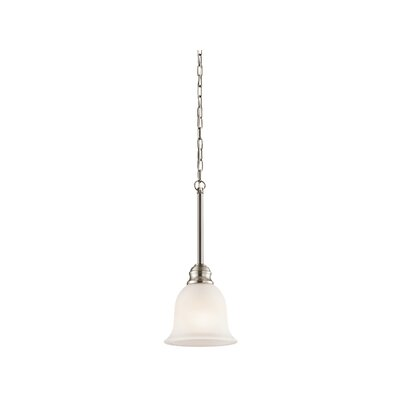 Haynes 1-Light Mini Pendant Finish: Brushed Nickel