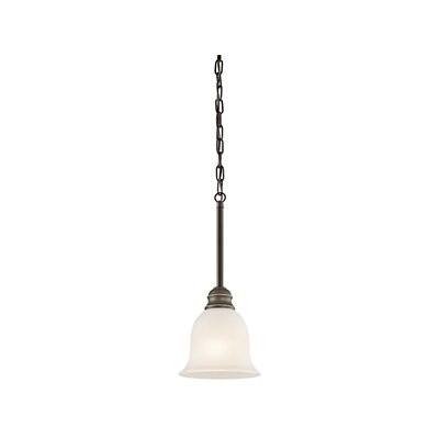 Hertzler 1-Light Mini Pendant Finish: Olde Bronze