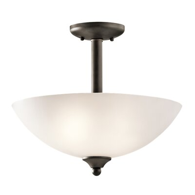 Graybeal 2-Light LED Bowl Pendant