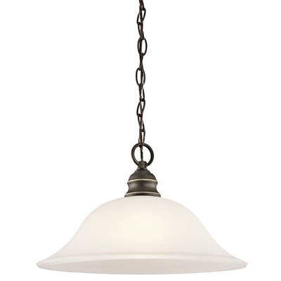 Haynes 1-Light Down Pendant Finish: Olde Bronze