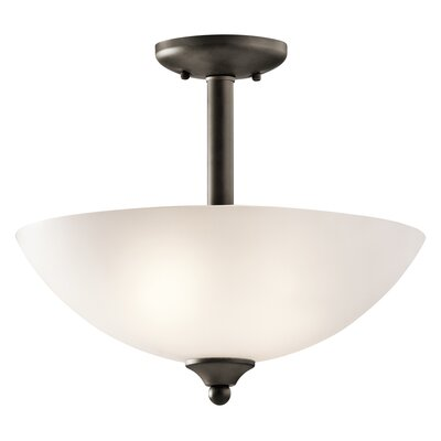 Graybeal 2-Light Inverted Pendant Finish: Olde Bronze