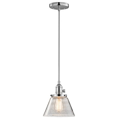 Antioch 1-Light Mini Pendant Finish: Chrome