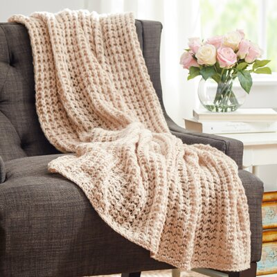 Pennsbury Throw Blanket Color: Camel