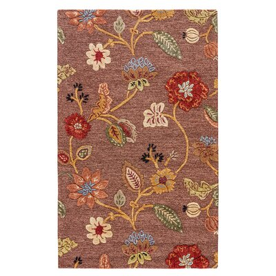 Davisson Cocoa Brown Rug Rug Size: Rectangle 5 x 8