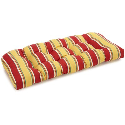 Belle Isle Outdoor Bench Cushion Fabric: Haliwell Multi