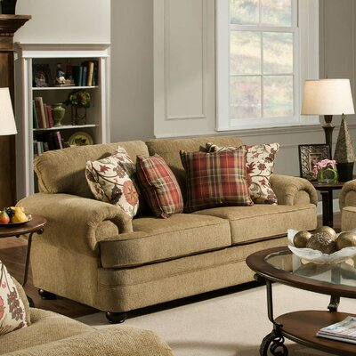 Simmons Upholstery Killingworth Loveseat Upholstery Color: Thunder Topaz