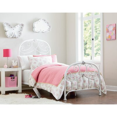 Schaumburg Open-Frame Headboard and Footboard Finish: White, Size: Full