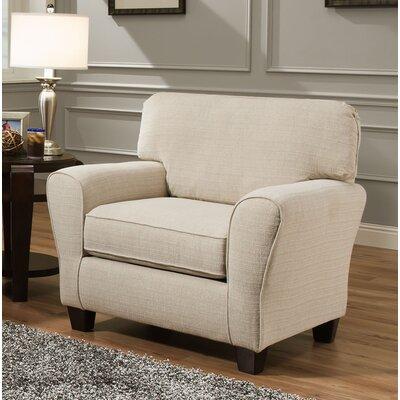 Hidden Field Chair and a Half Upholstery: Cream