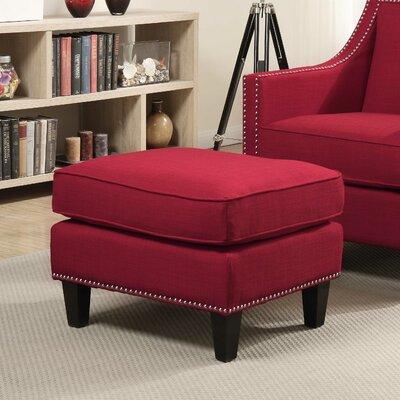 Rotterdam Ottoman Upholstery: Berry