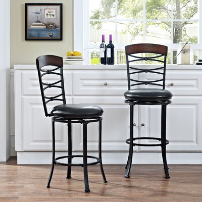 Bel Air 42.28 Swivel Counter Bar Stool